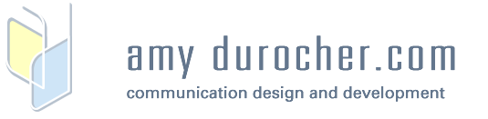 amydurocher.com — web developer/designer