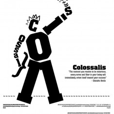 Typography Poster for the font Colossalis.